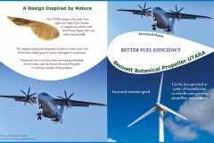 Bennett Botanical Propeller UTARA Outside Brochure