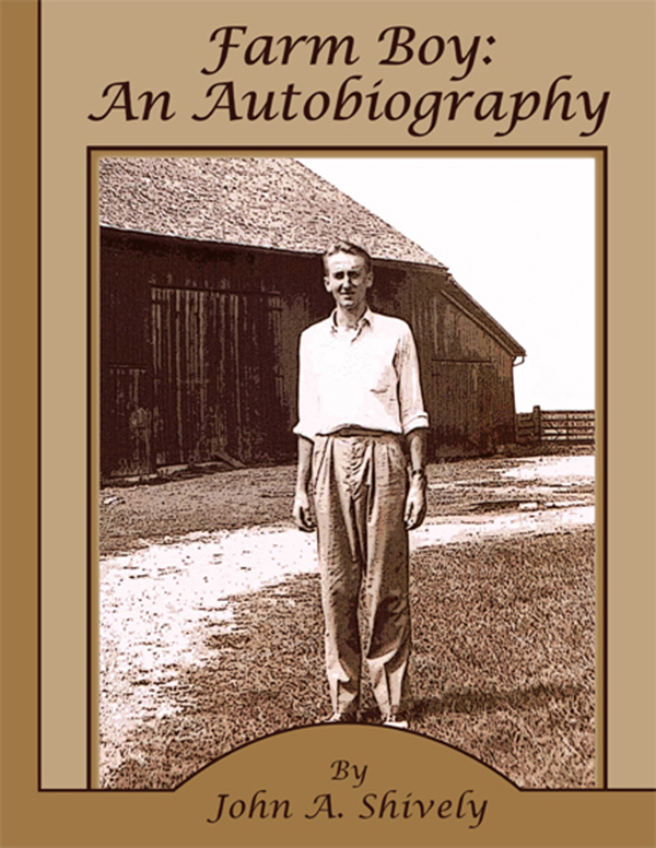 John Shively Autobiography Cover