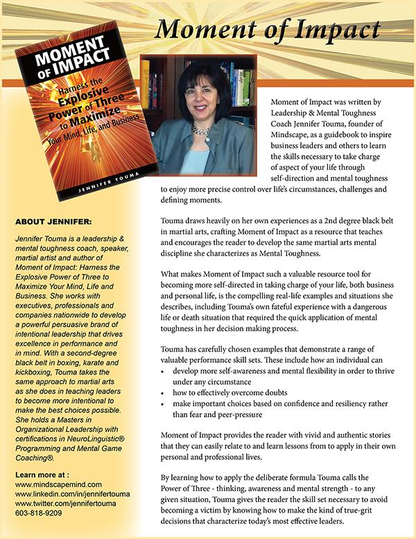 Jennifer Touma Book Flyer