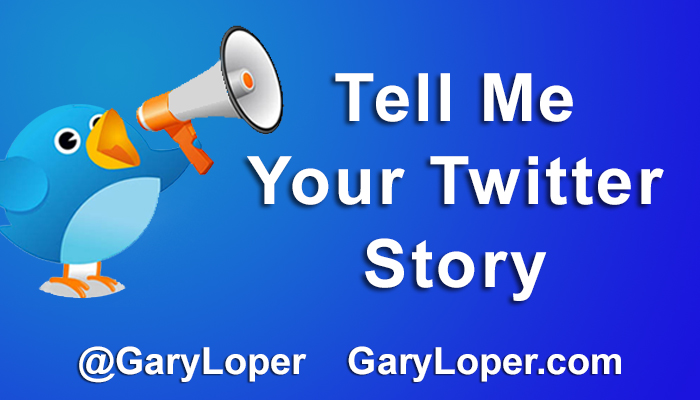 Tell Me Your Twitter Story