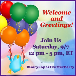 Gary Loper Life Business Social Media Coach Twitter Bird and Balloons