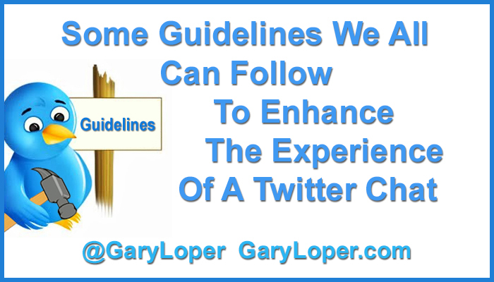 Some Guidelines We All Can Follow To Enhance The Experience Of A Twitter Chat 2