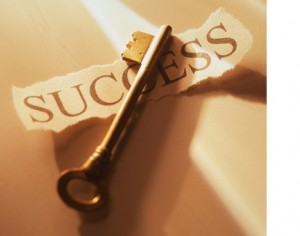 Success Key right