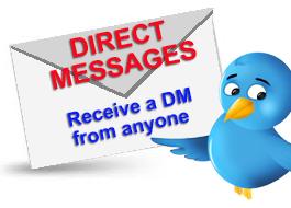 Gary Loper Twitter Expert receive a DM from anyone