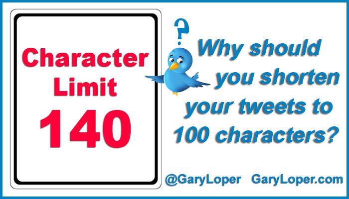 Shorten Your Tweets to 100 Characters