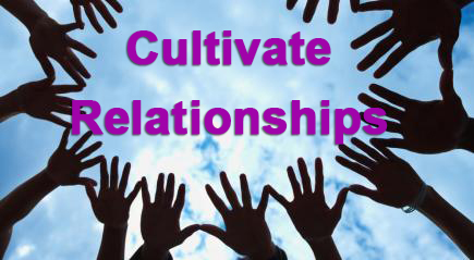 Cultivate Relationships