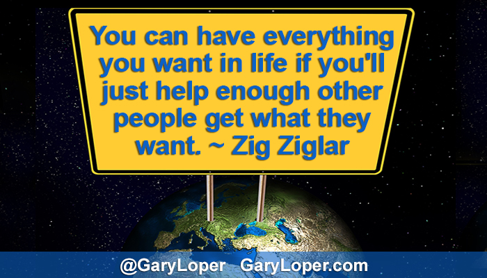 Building Social Currency on Twitter - Zig Ziglar Quote