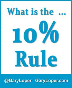 10 PERCENT RULE
