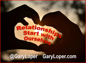 Relationships start with ourselves
