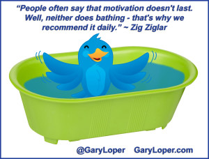 Zig Ziglar Quote on Motivation updated