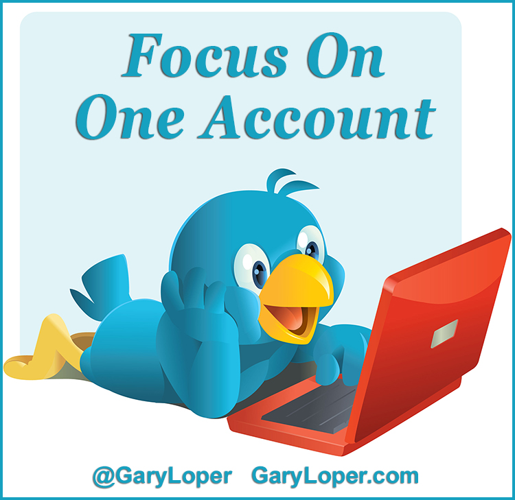 Focus on one account
