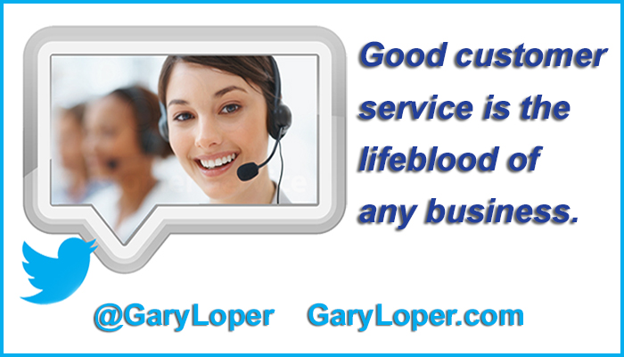 Good customer service is the lifeblood of any business updated