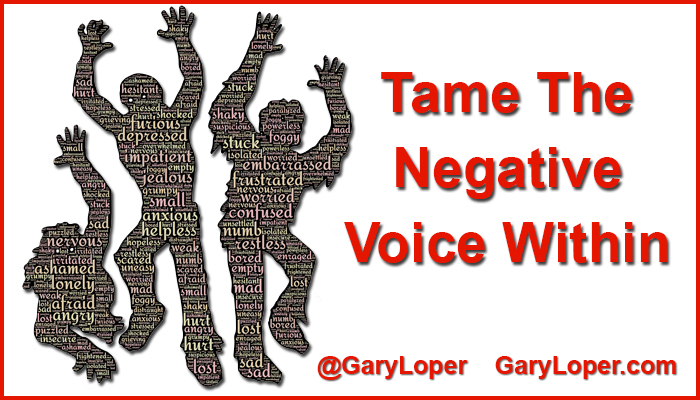Tame the Negative Voice Within