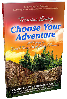 Tenacious Living Choose Your Adventure png