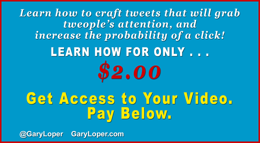 Learn how to craft tweets that will grab