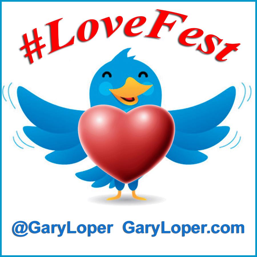 Lovefest Twitter Bird