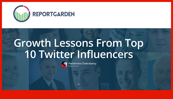 Growth Lessons From Top 10 Twitter Influencers